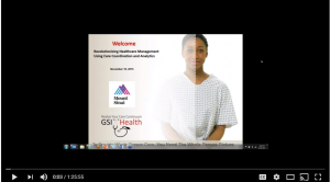 Mount Sinai and GSI Health Welcome page