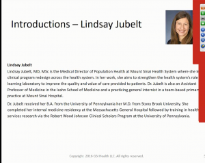 Introducing Lindsay Jubelt slide