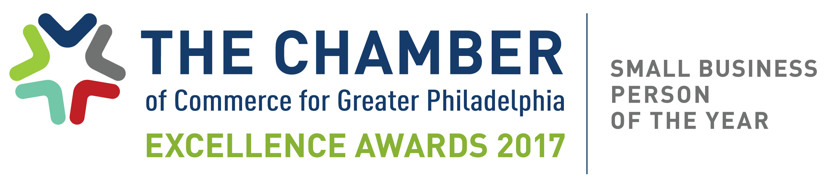 Greater Philadelphia Chamber of Commerce Small Business Person of the Year Award