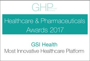 GSI 2017 Most Innovative Healthcare Platform Award