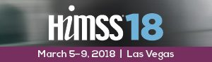 HIMSS 2018 Exhibitor